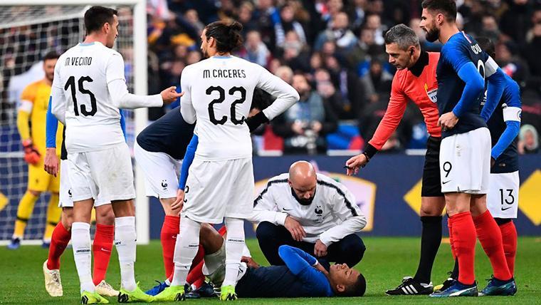 ¡Mbappé y Neymar se lesionan y dejan al PSG en 'shock'!