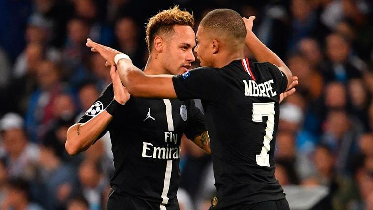 Sin Neymar y Mbappé, el PSG puede caer eliminado de la Champions League