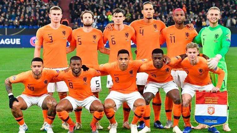 El papel que recibió De Ligt y cambió el destino de Holanda