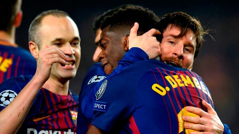 El toque de atención de Andrés Iniesta al Barça y a Ousmane Dembélé