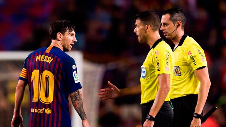 Gil Manzano, árbitro del Atlético-Barça, habla sobre el partido