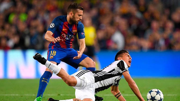 La Juventus sigue apretando para llevarse a Jordi Alba