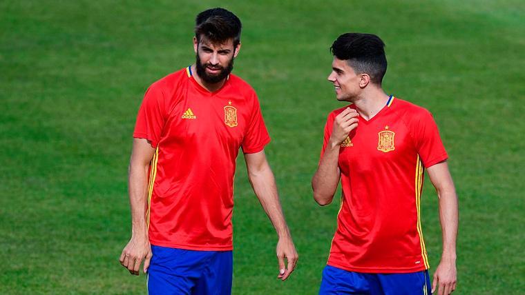 El gran elogio de Marc Bartra a Carles Puyol y Gerard Piqué