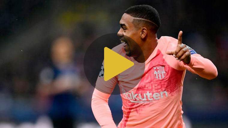 Malcom, más confiado que nunca para afrontar el reto del Barça
