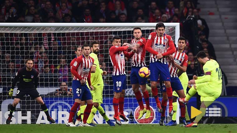 Vídeo resumen: Atlético Madrid 1 FC Barcelona 1 (LaLiga J13)