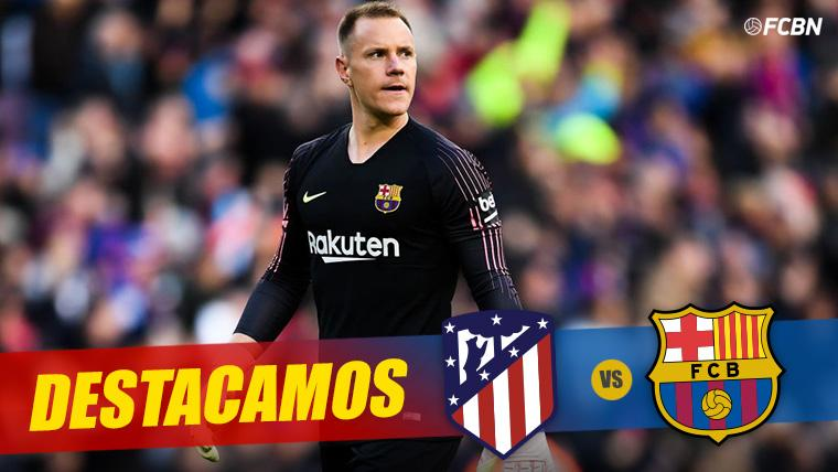 Ter Stegen, tras encajar un gol con el FC Barcelona