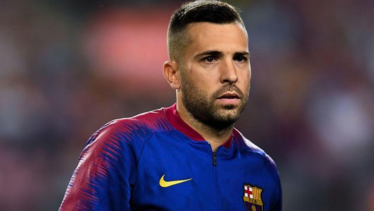 "Jordi Alba: ""Se me hace raro no tener noticias del Barça..."""