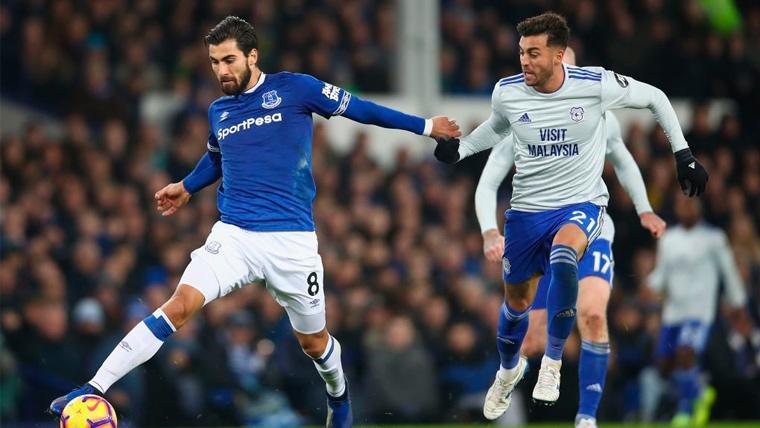 El Everton ya abre la puerta al posible fichaje de André Gomes