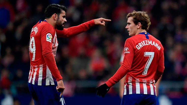 Samuel Umtiti provocó una tensa discusión entre Diego Costa y Antoine Griezmann