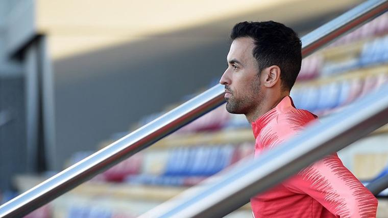 "Busquets respalda a Dembélé: ""Dará mucho al FC Barcelona"""