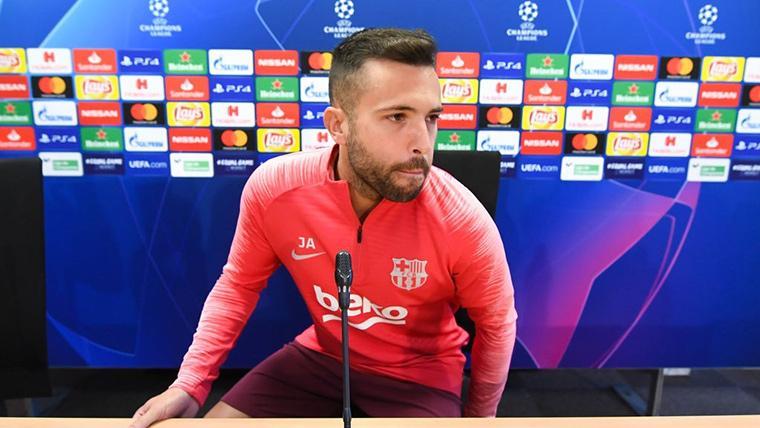 Dos 'novias' de lujo para Jordi Alba si decide abandonar el Barça