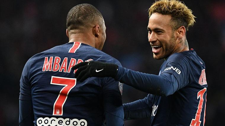 La afición del Barça prefiere a Mbappé antes que a Neymar