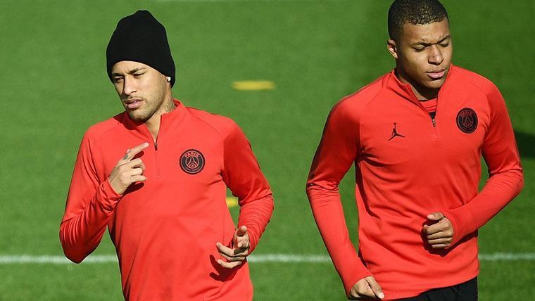 La mejor noticia posible para el PSG con Neymar y Mbappé