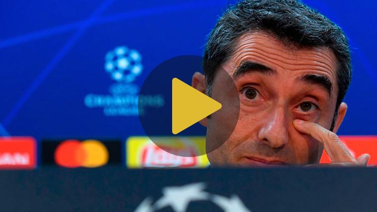 """Valverde: """"Queremos ganar al PSV para ser primeros de grupo"""""""