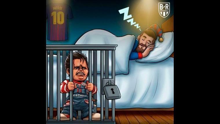 Estos son los mejores 'memes' del PSV Eindhoven-FC Barcelona