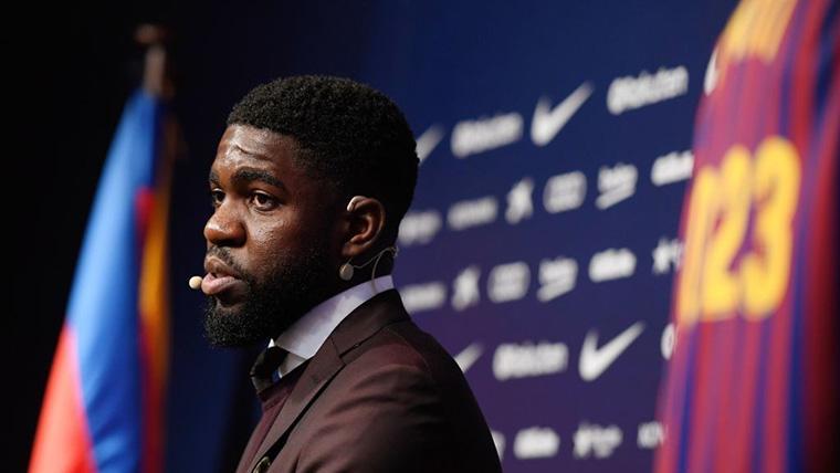 La rodilla de Umtiti preocupa a un Barça que no descarta fichar