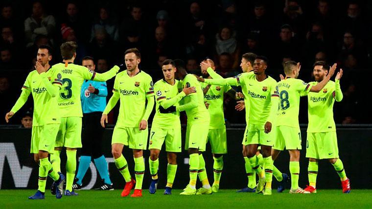 Los tres jugadores del Barça que se ganaron el puesto ante el PSV