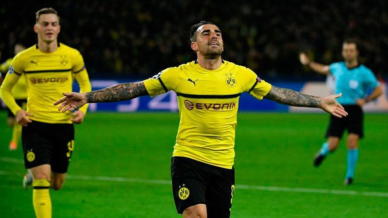 Alcácer, a un ritmo frenético: ya es máximo goleador de la Bundesliga