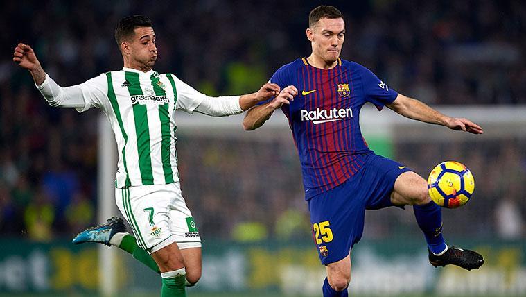 El Barça ya habría fijado una fecha para la reaparición de Thomas Vermaelen