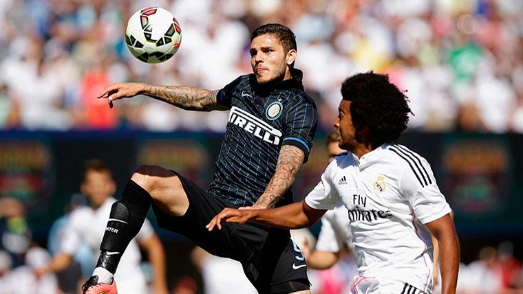 Icardi rechaza la posibilidad de fichar por el Real Madrid