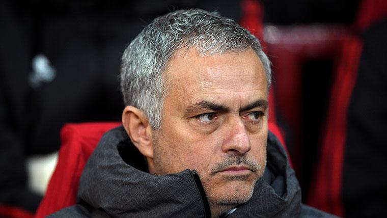 La nueva excusa de Mourinho con el Manchester United