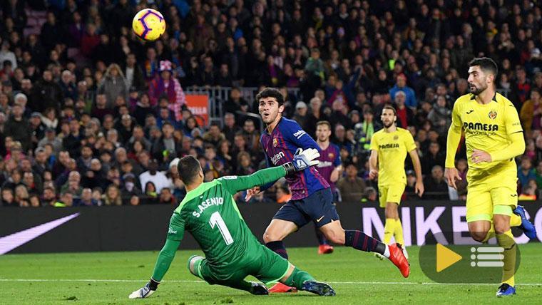 Vídeo resumen: FC Barcelona 2 Villarreal 0 (LaLiga J14)