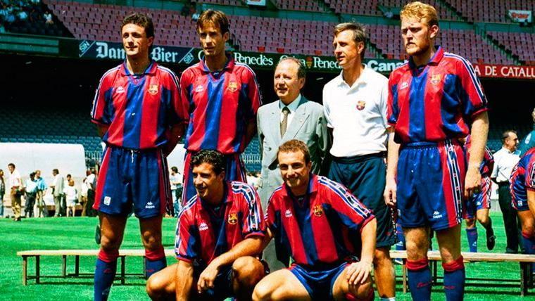 Núñez y Cruyff, una relación de amor-odio en el FC Barcelona