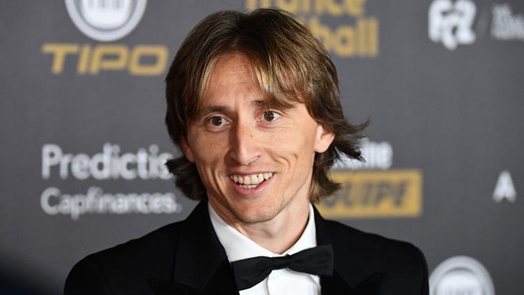 """Modric: """"Ganar el Balón de Oro tras Messi y Cristiano... Increíble"""""""
