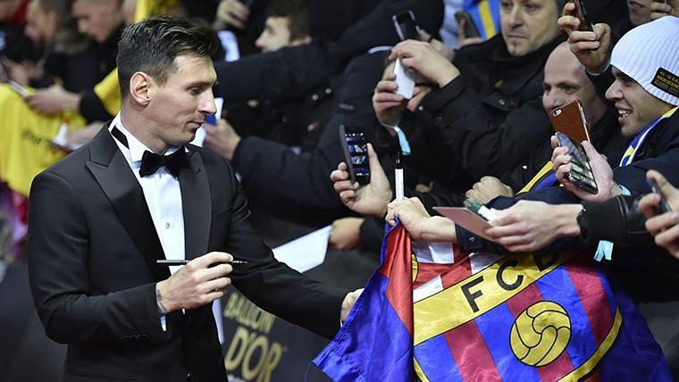 Que Messi sea quinto en el Balón de Oro, un insulto al fútbol