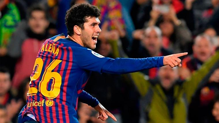 OFICIAL: El Barça inscribe a Aleñá en el primer equipo para cubrir la baja de Rafinha