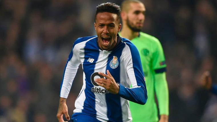 Éder Militao celebra un gol con el Porto