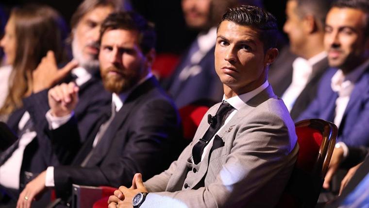 Messi y Cristiano Ronaldo, juntos en una gala del FIFA The Best