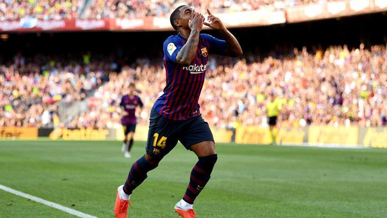 Malcom, letal: Remate inapelable en el 3-0 del Barça-Cultural