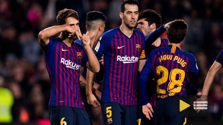 Vídeo resumen: FC Barcelona 4 Cultural Leonesa 1 (Vuelta de 1/16 de Copa del Rey)