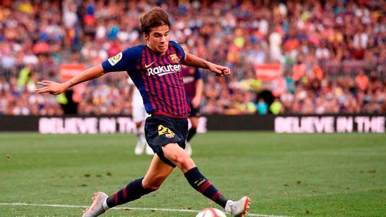 Riqui Puig tuvo un gran debut oficial