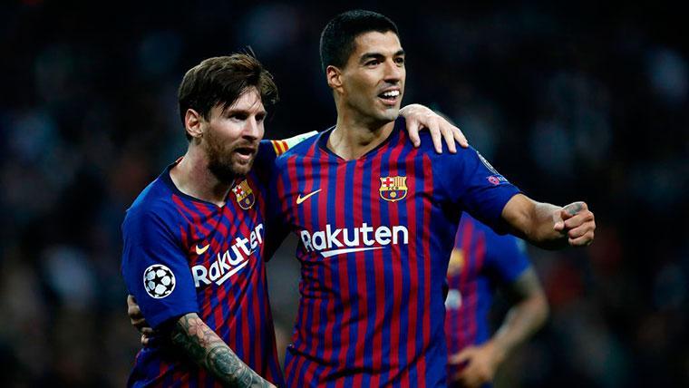 Messi, mejor con Suárez en el campo