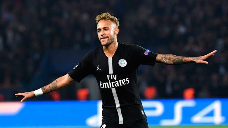 Neymar abre la puerta para jugar en la Premier League