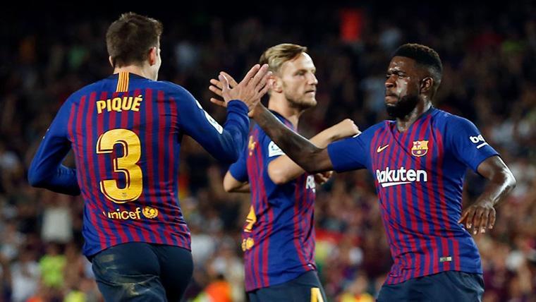 La lesión de Samuel Umtiti, un agujero en la defensa del Barça
