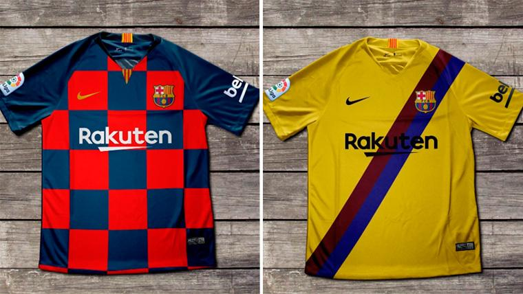Filtrados los diseños definitivos de las dos camisetas del FC Barcelona 2019-20