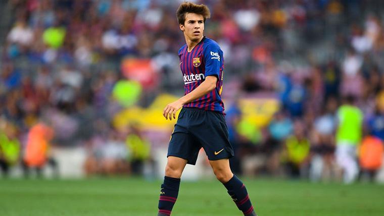 Riqui Puig, el nuevo 'wonder boy' que pisa fuerte en el Barcelona