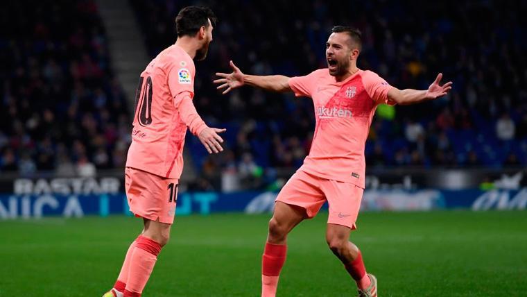 """Jordi Alba explota sobre Leo Messi: """"El Balón de Oro es una mentira"""""""