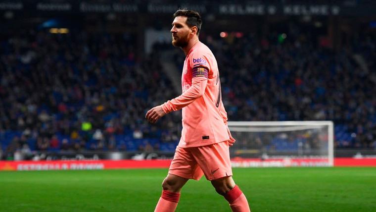 Leo Messi también se apuntó un recital estadístico contra el RCD Espanyol