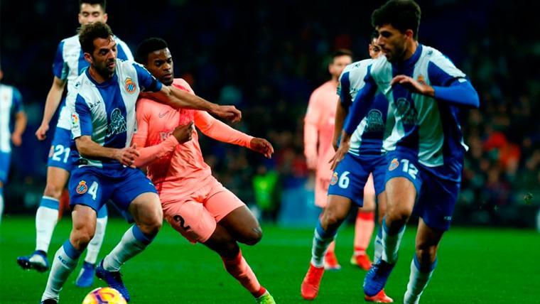 Nélson Semedo sigue creciendo y ya es el lateral perfecto para el Barça