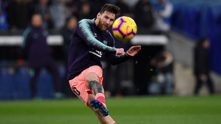 Así reaccionó 'France Football' tras el recital de Messi en el Espanyol-Barça
