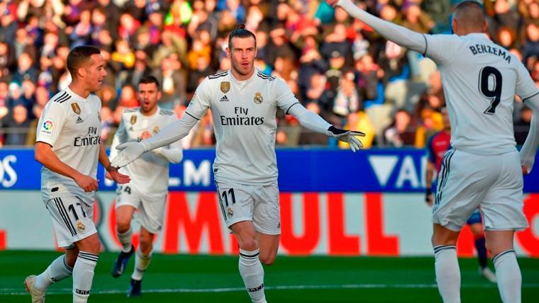 El Real Madrid sufre contra un Huesca colista pero vuelve a la zona Champions (0-1)