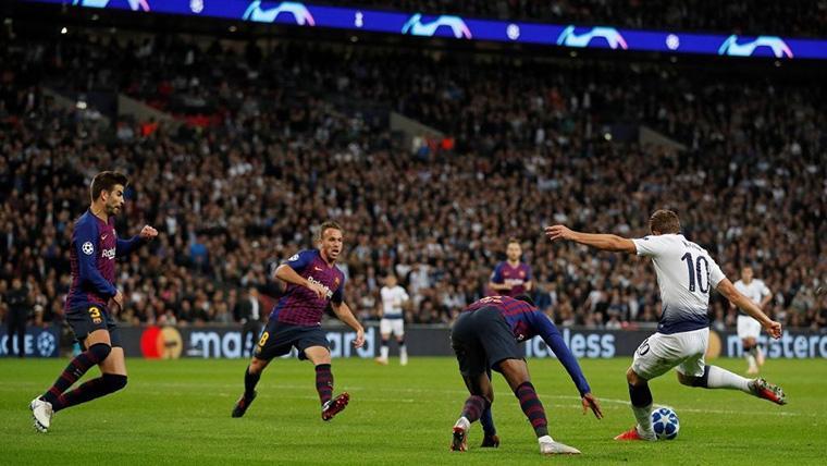 Dudas sobre el encaje de Harry Kane en el ataque del Barcelona