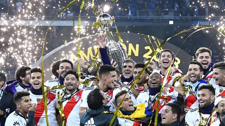 River Plate, campeón de la Copa Libertadores en una prórroga de infarto en el Bernabéu (3-1)