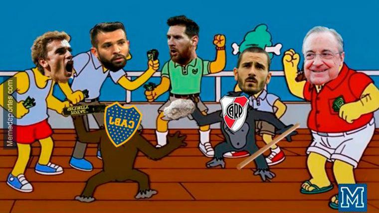 Estos son los mejores 'memes' del River-Boca de la Libertadores