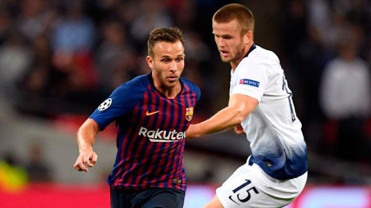 Arthur Melo reaparecerá de su lesión contra el Tottenham