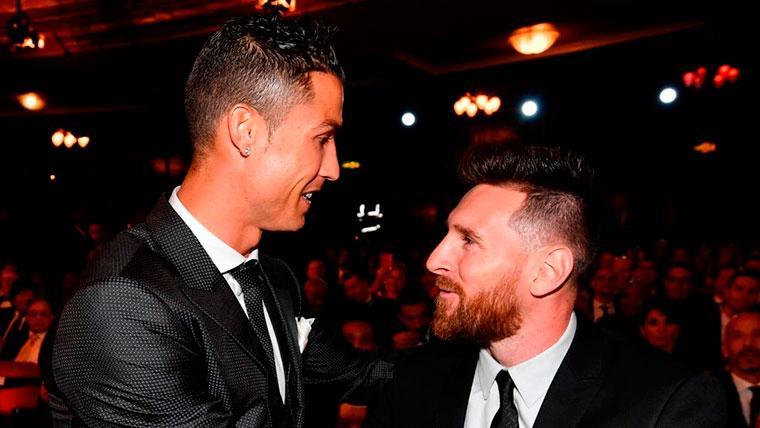 "Cristiano Ronaldo desafía a Leo Messi: ""Ven a jugar a Italia"""